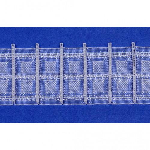 Фото шторной ленты Mozart 1:2 (1041892, Bandex)