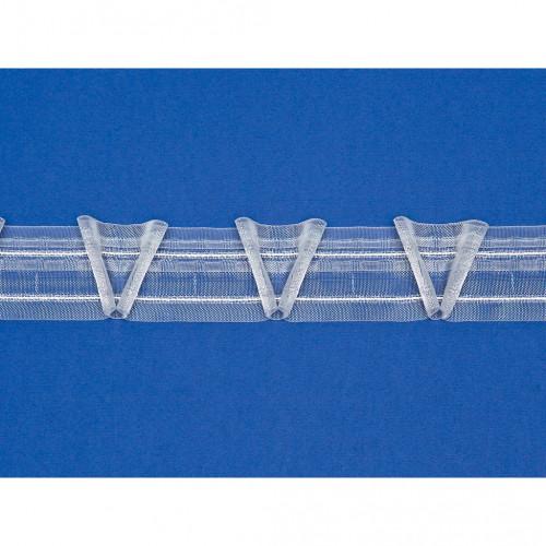 Фото шторной ленты Piano 1:2.5 (1041165, Bandex)