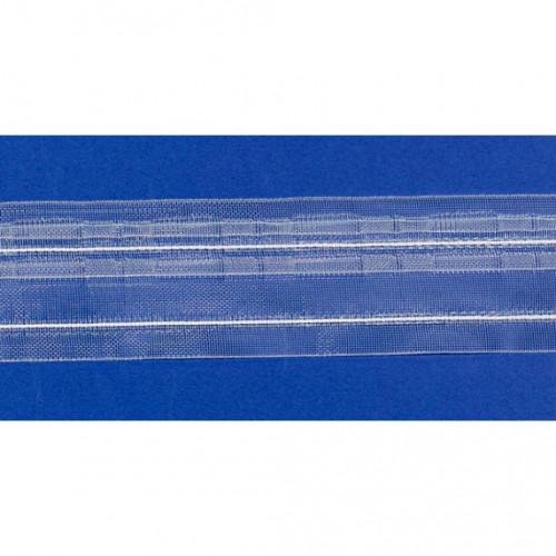 Фото шторной ленты Placido 1:2 (1041303, Bandex)