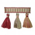 Фото бахромы с кисточками Gold Textil 10887 7437