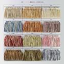 Фото бахромы пушистой Gold Textil 1111-9989