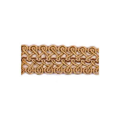 Фото тесьмы декоративной Gold Textil 22-192-4