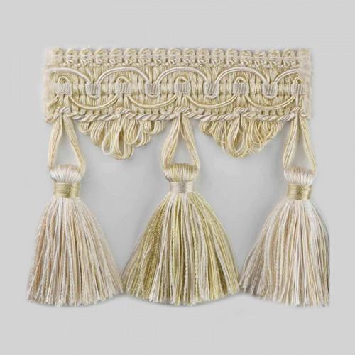 Фото бахромы с кисточками Gold Textil 4395-9965