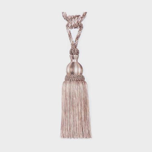 Фото подхвата для штор с кистью Gold Textil 4627-10-9924