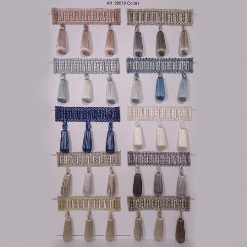 Фото бахромы с бубенчиками Gold Textil 20018 9930