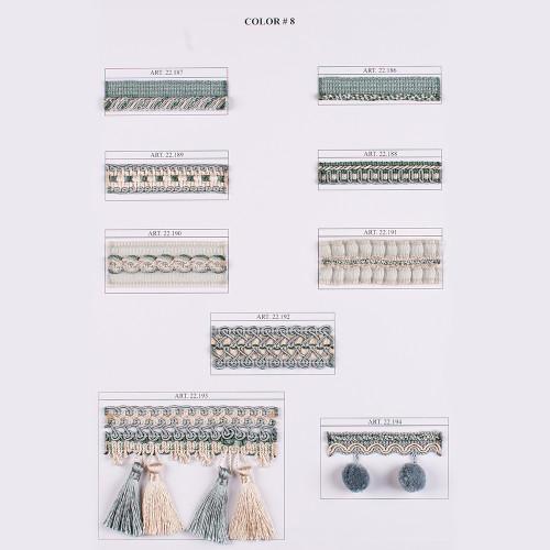 Фото тесьмы декоративной Gold Textil 22-189-8