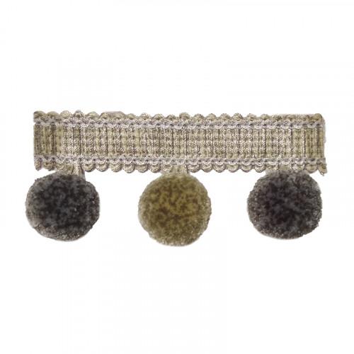Фото бахромы с помпонами Gold Textil 10888 6635