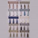 Фото бахромы с бубенчиками Gold Textil 20018 6643