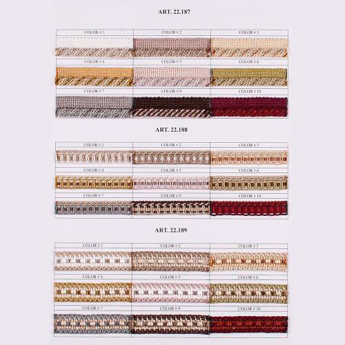 Фото тесьмы декоративной Gold Textil 22-189-9