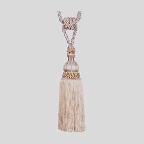 Фото подхвата для штор с кистью Gold Textil 4627-10-9965