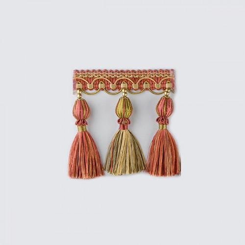 Фото бахромы с кисточками Gold Textil 4492-9988