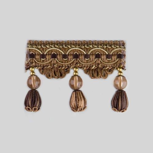 Фото бахромы с бубенчиками Gold Textil 4493-9993