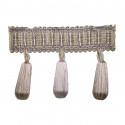Фото бахромы с бубенчиками Gold Textil 20018 6635