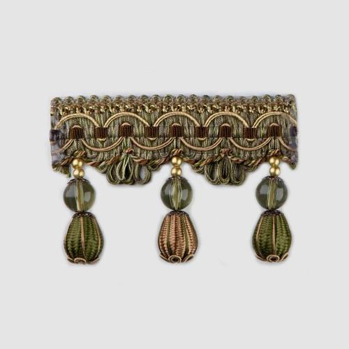 Фото бахромы с бубенчиками Gold Textil 4493-9994