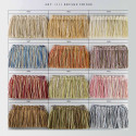 Фото бахромы пушистой Gold Textil 1111-9987
