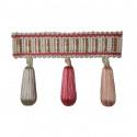 Фото бахромы с бубенчиками Gold Textil 20018 7437