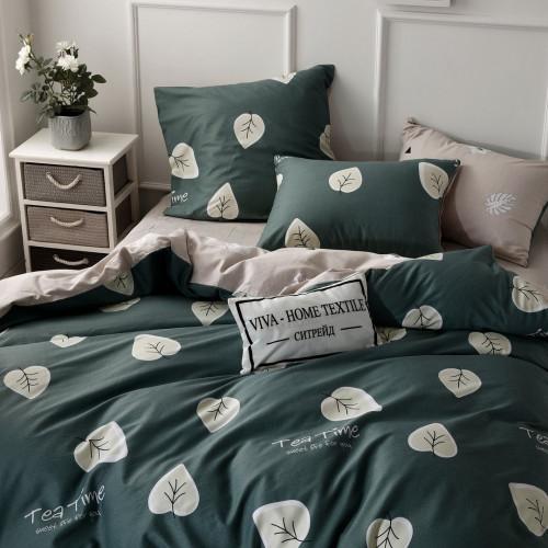 Фото постельного белья из сатина L361: евро
